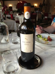The heaviest wine bottle ever