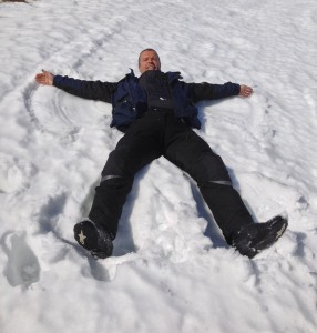 I'm snow angel