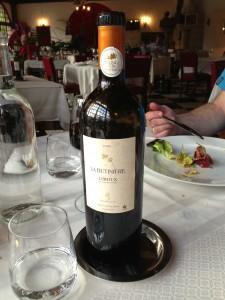 The heaviest wine bottle ever