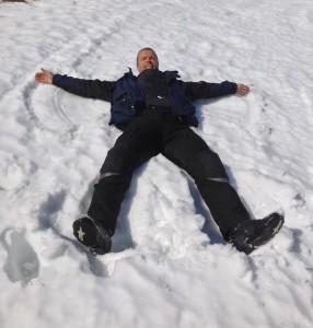 I'm snow angel